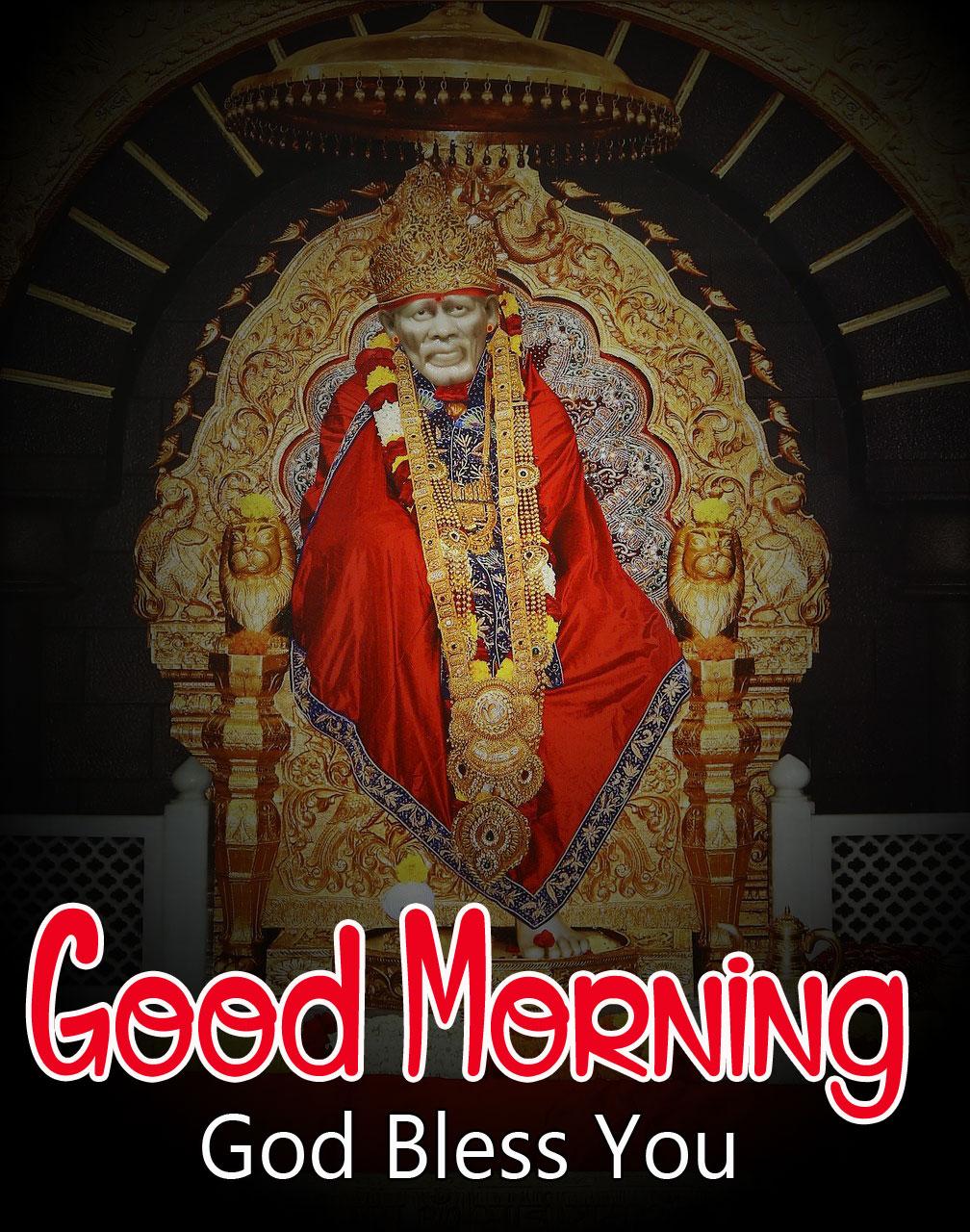 Latest Sai Baba Good Morning Images pics 2021 2