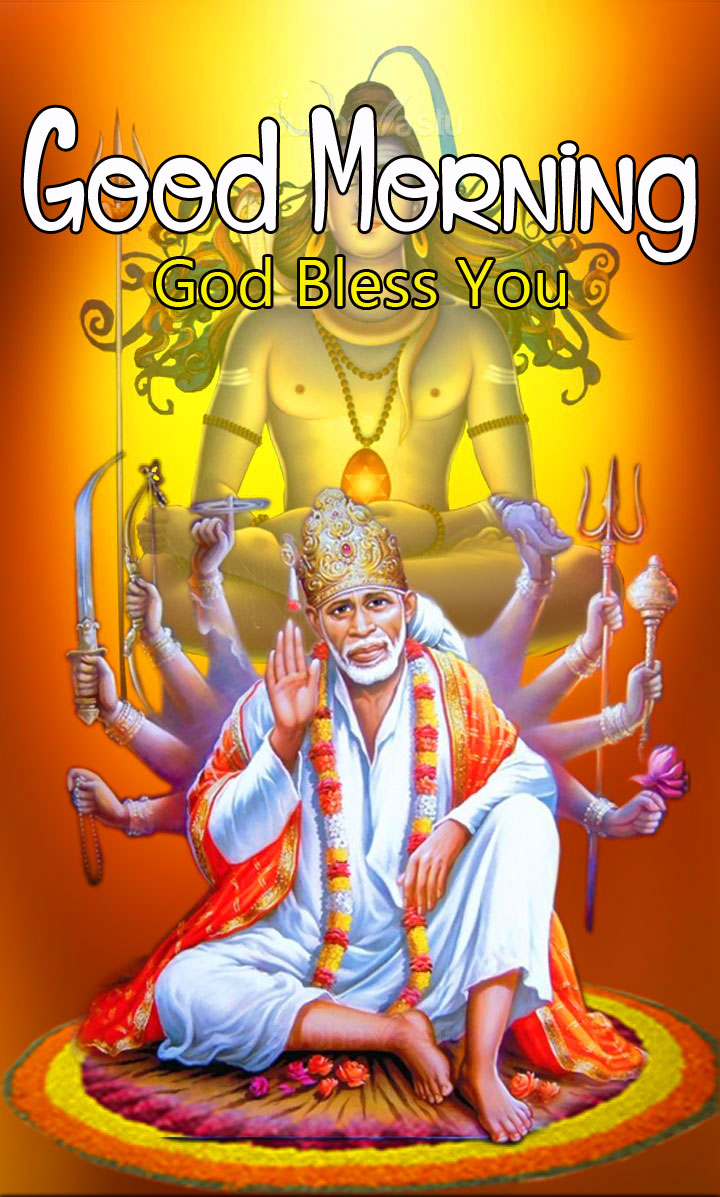 Latest Sai Baba Good Morning Images pictures free hd
