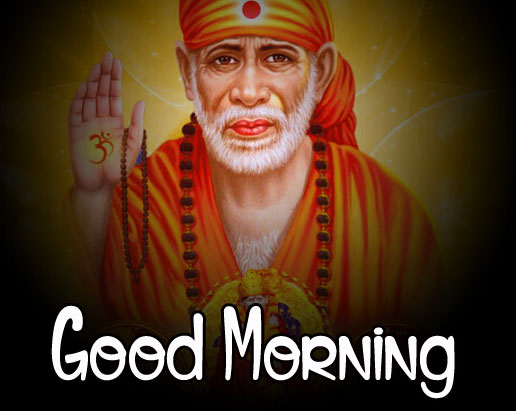 Latest Sai Baba Good Morning Images pictures hd