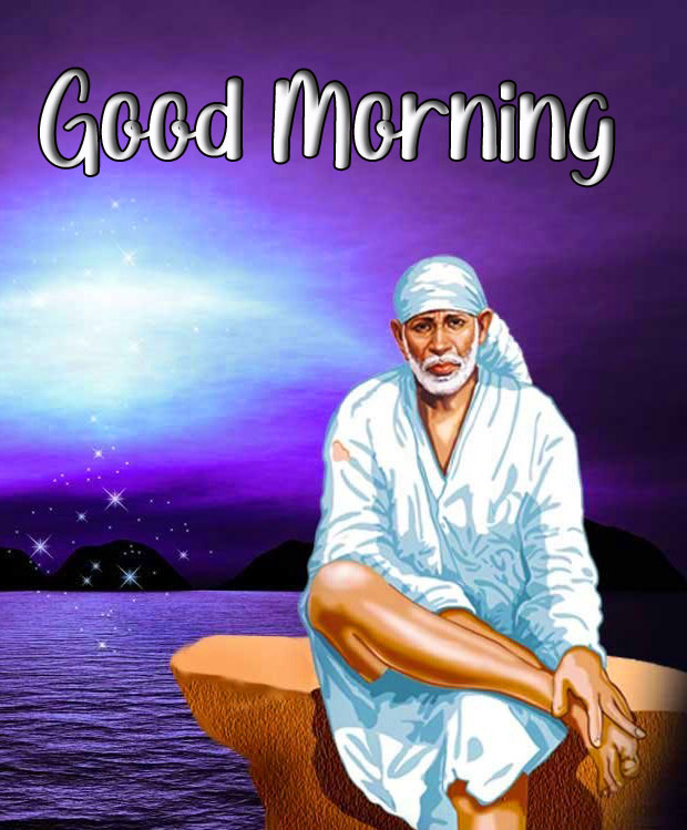 Latest Sai Baba Good Morning Images pictures photo for hd