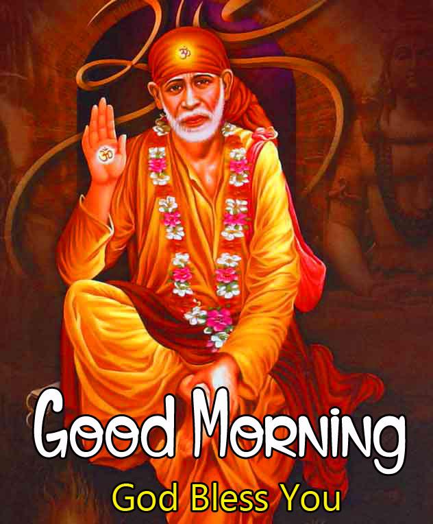 Latest Sai Baba Good Morning Images wallpaper free hd