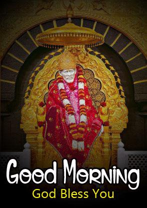 Latest Sai Baba Good Morning Images wallpaper hd