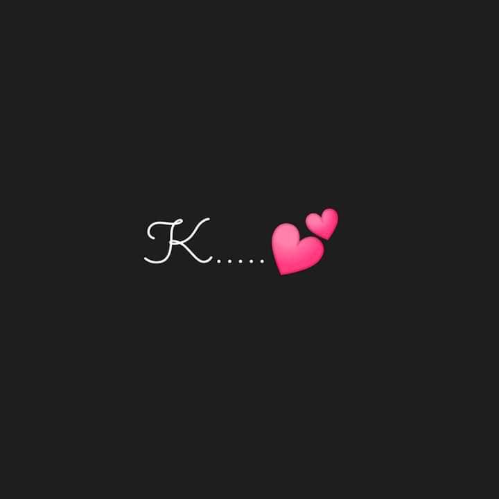 Latest Stylish K Name Dp Images