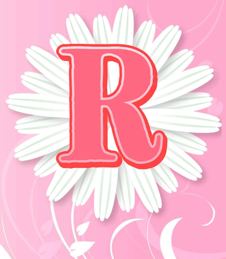 Latest Stylish R Name Dp Images photo 1