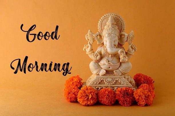 Latest ganesha good morning images photo for status
