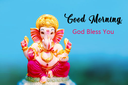 Latest ganesha good morning images pics hd download