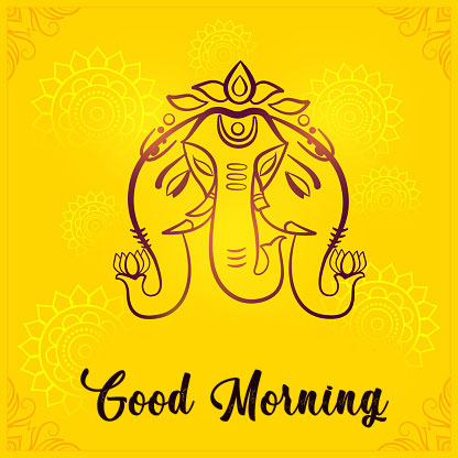 Latest ganesha good morning images pictures 2021 download