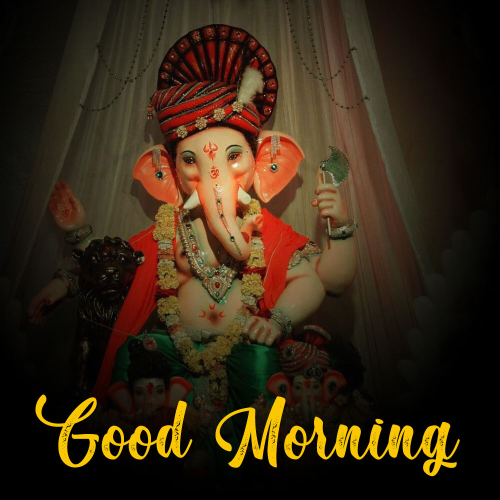 Latest ganesha good morning images pictures for dp