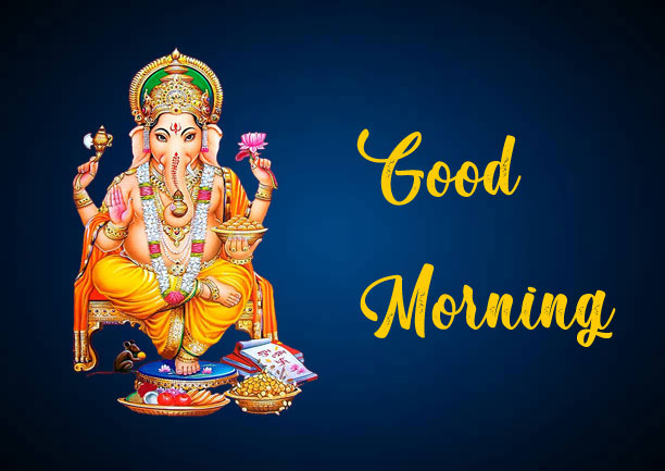 Latest ganesha good morning images pictures for whatsapp