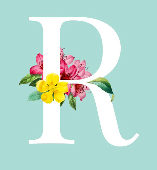 Lovely Stylish R Name Dp Images for profile