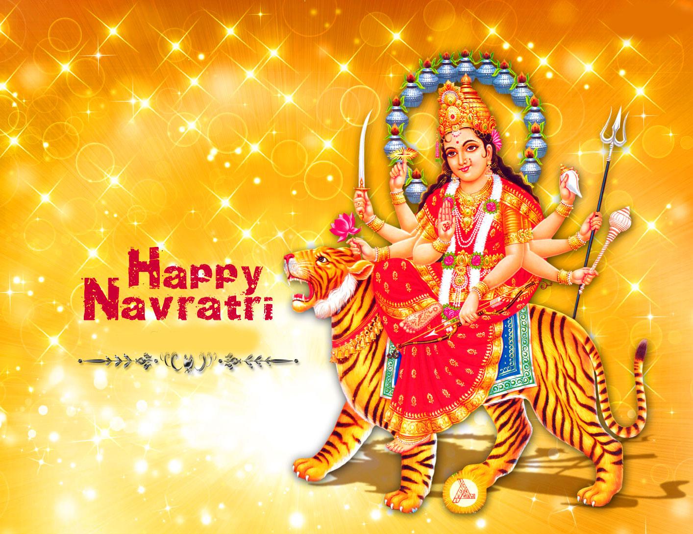 Maa Durga Latest Happy Navratri Images free hd