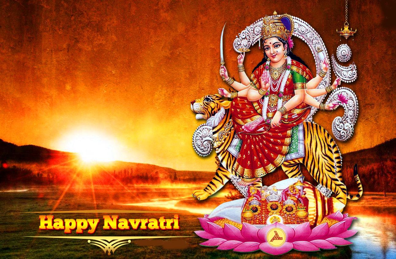 Maa Durga Latest Happy Navratri Images photo hd