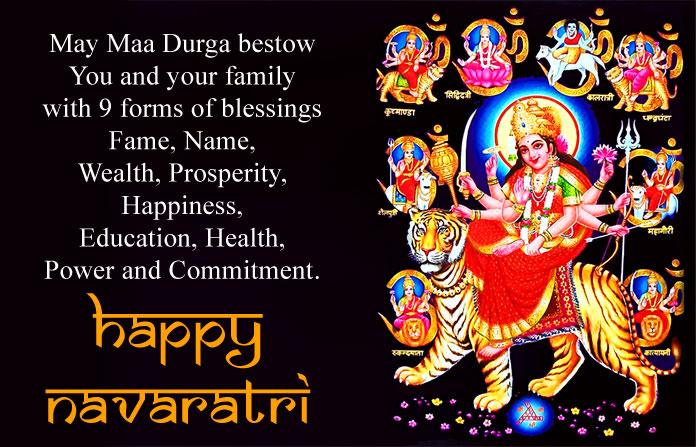 Maa Durga Latest Happy Navratri Images