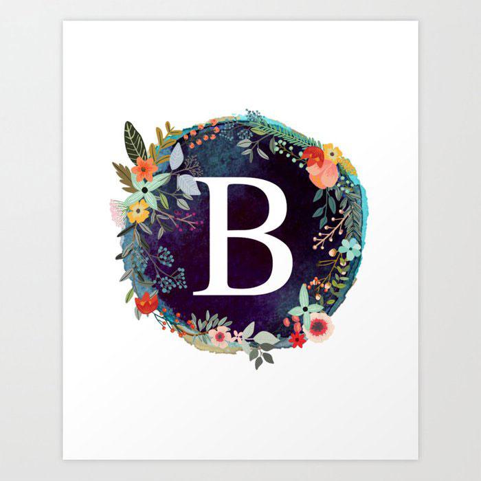 New B Name Dp Images photo pics download