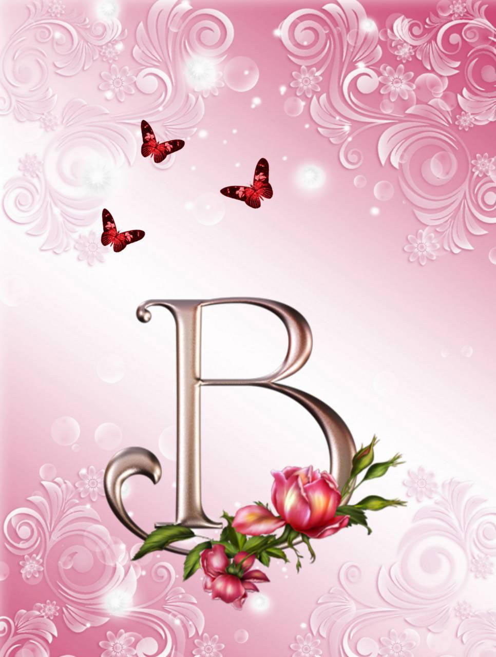 New B Name Dp Images pictures photo hd download