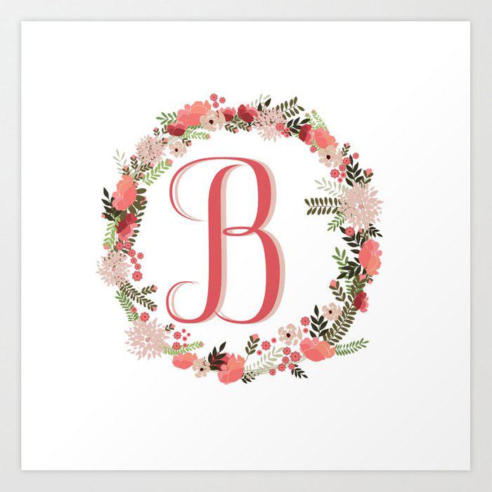 New B Name Dp Images wallpaper free hd
