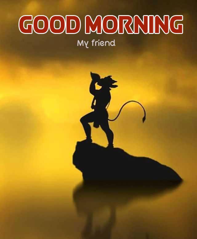 New Free HD hanuman ji Good Morning Wallpaper