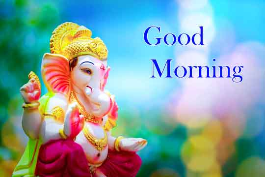 New HD Good Morning Images With Ganesha