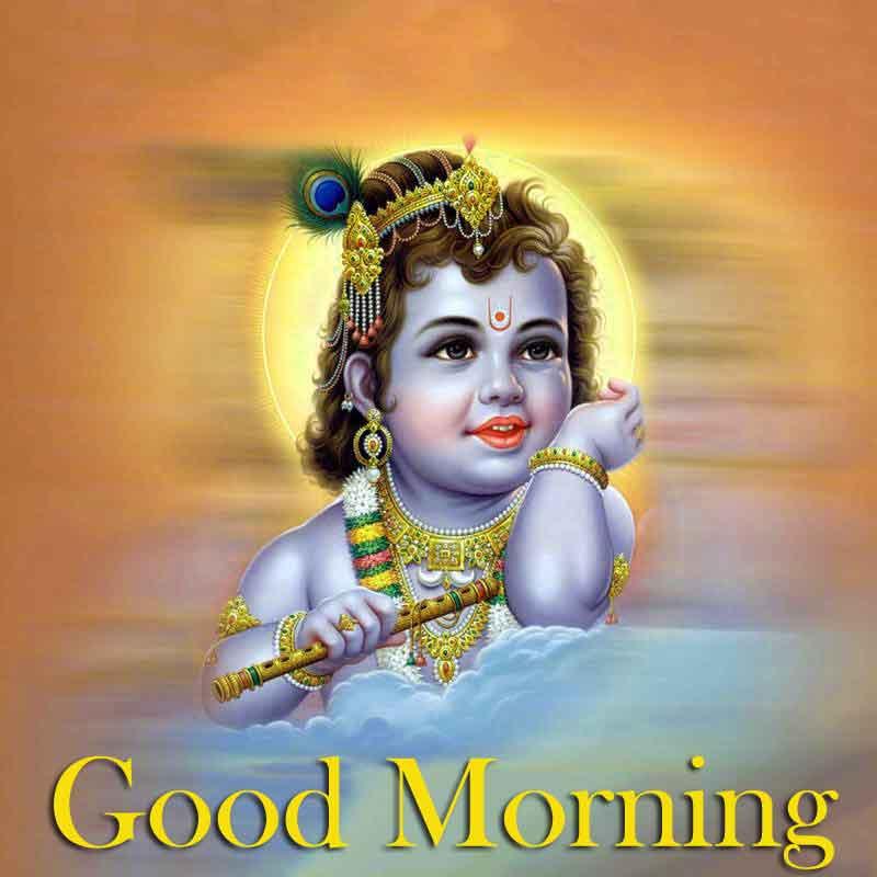 New HD Krishna Good Morning Images