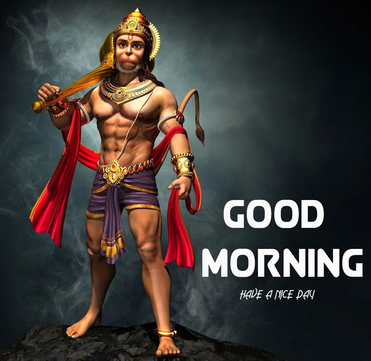 New HD hanuman ji Good Morning Images