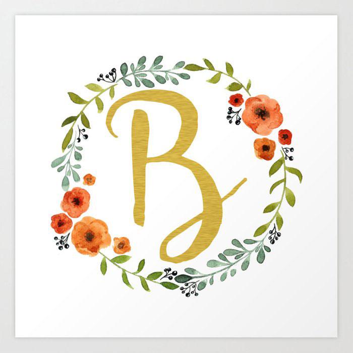 New Nice B Name Dp Images pics download