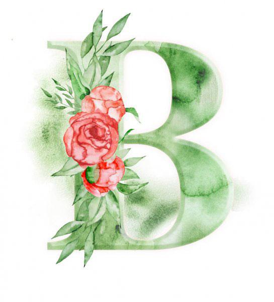 New Nice B Name Dp Images wallpaper
