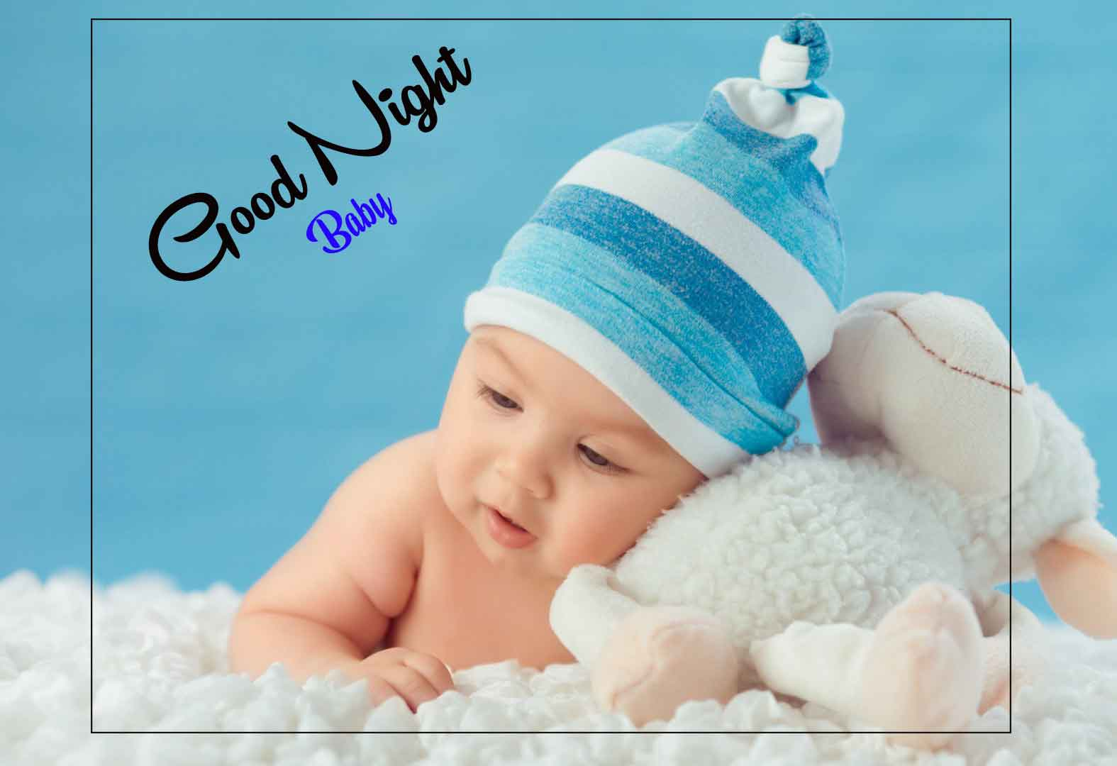 New Top good night cute baby Images
