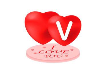 New V Name Dp Images for download 2