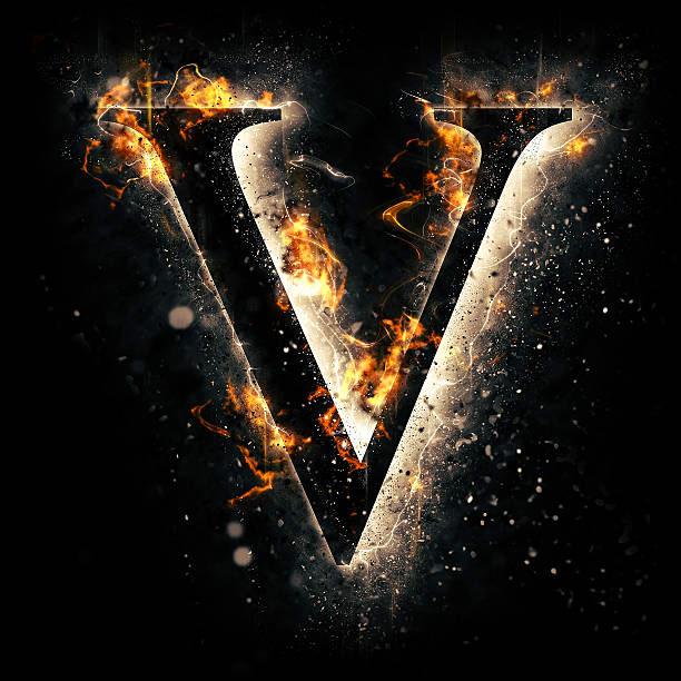 New V Name Dp Images pics photo