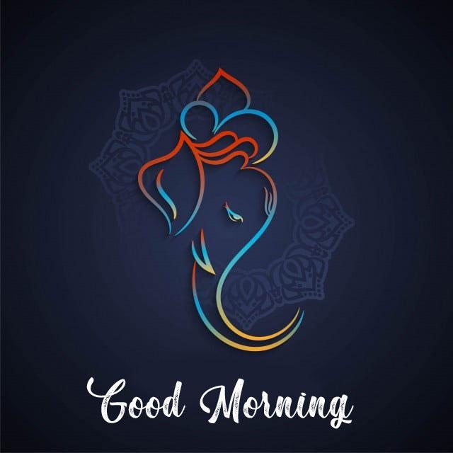 New ganesha good morning images for facebook