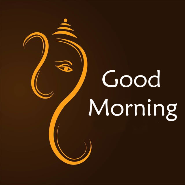 New ganesha good morning images for status
