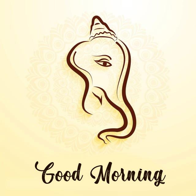 New ganesha good morning images for whatsapp
