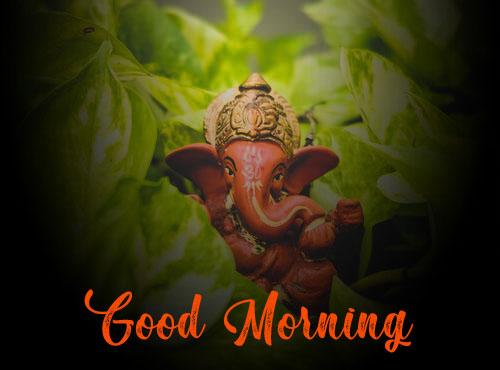 New ganesha good morning images photo 2021