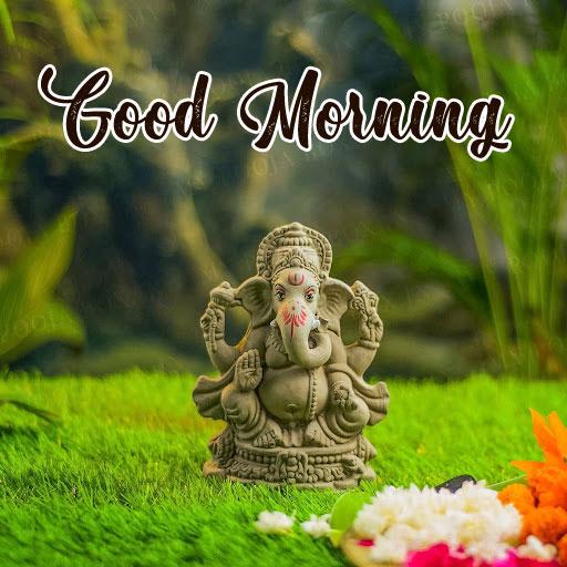 New ganesha good morning images photo hd 2021