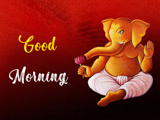 New ganesha good morning images photo pics download