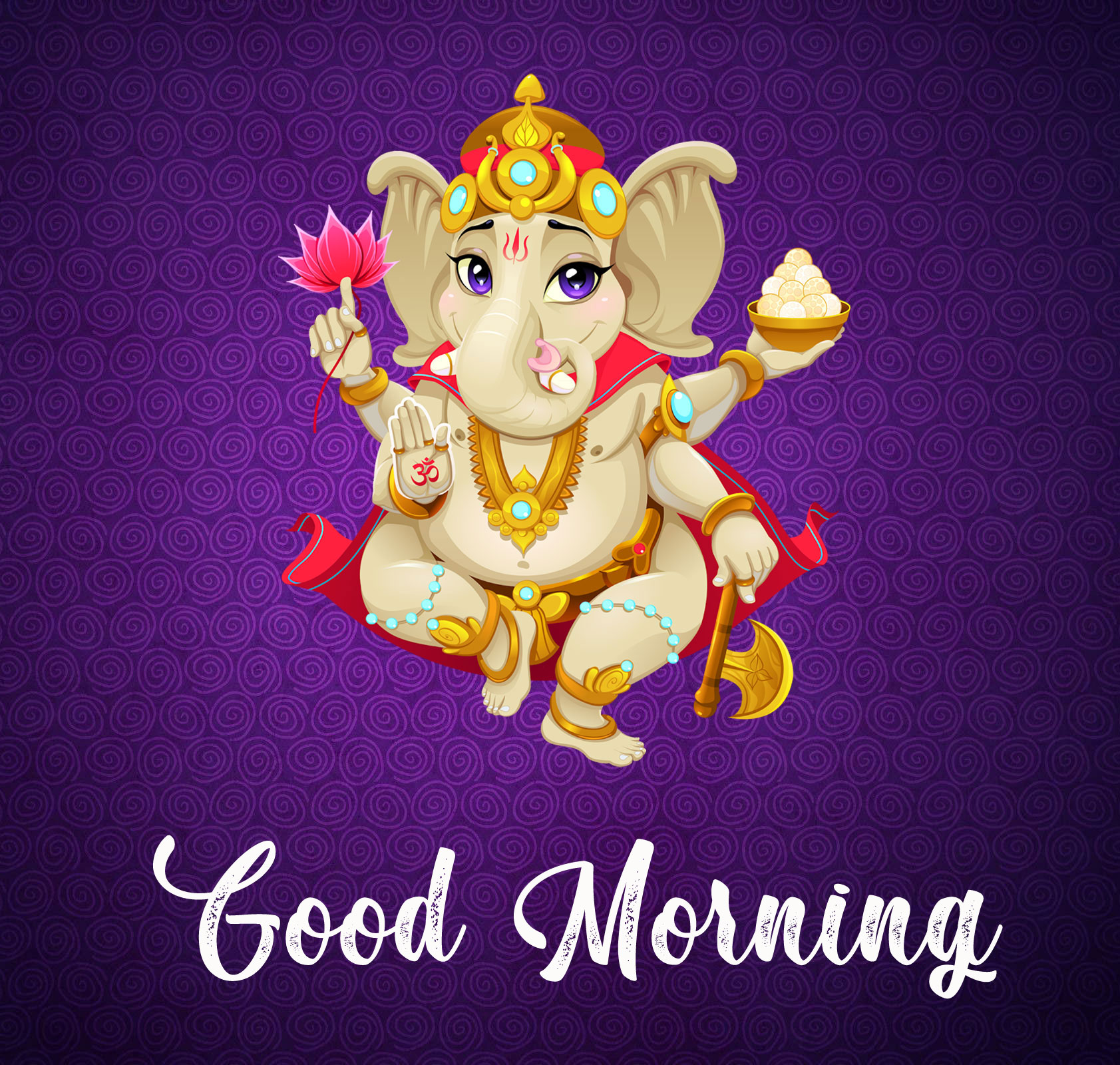 New ganesha good morning images photo pics
