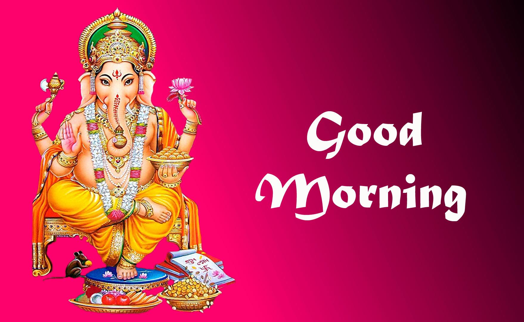 New ganesha good morning images pics download 2021