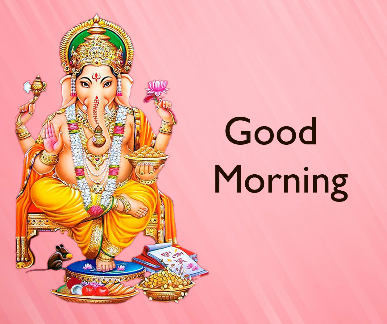 New ganesha good morning images pictures free hd