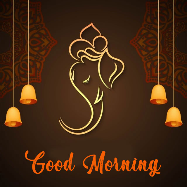 New ganesha good morning images pictures hd download