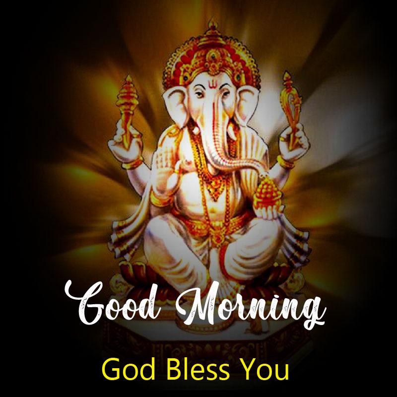 New ganesha good morning images