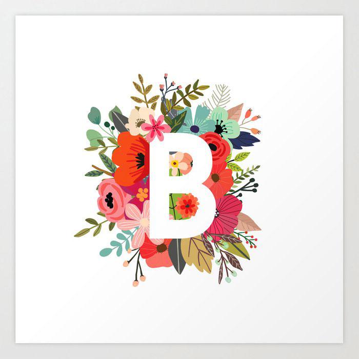 Nice B Name Dp Images pics wallpaper