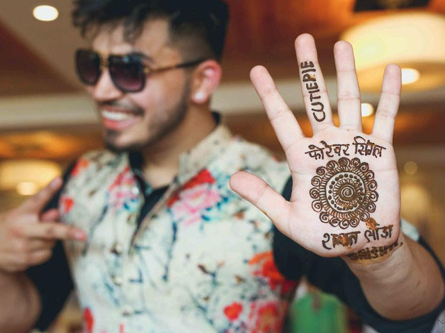 Nice Boys Mehndi Images photo for download 2