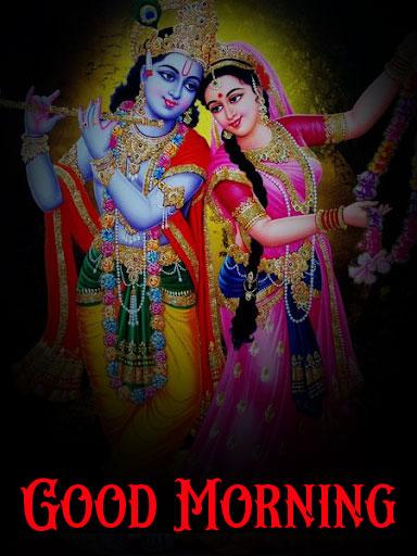 Nice Radha Krishna Good Morning Images photo download
