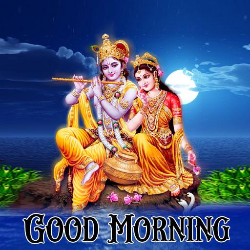 Nice Radha Krishna Good Morning Images pictures free hd