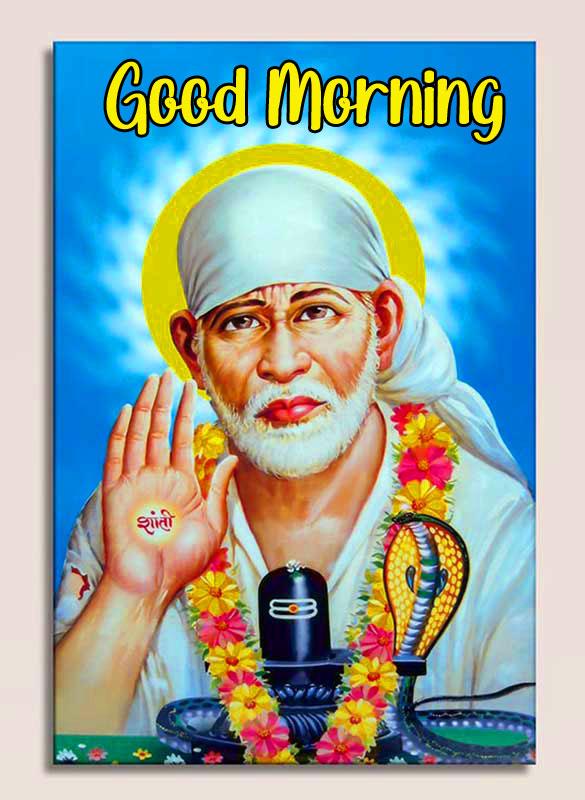 Nice Sai Baba Good Morning Images for fb