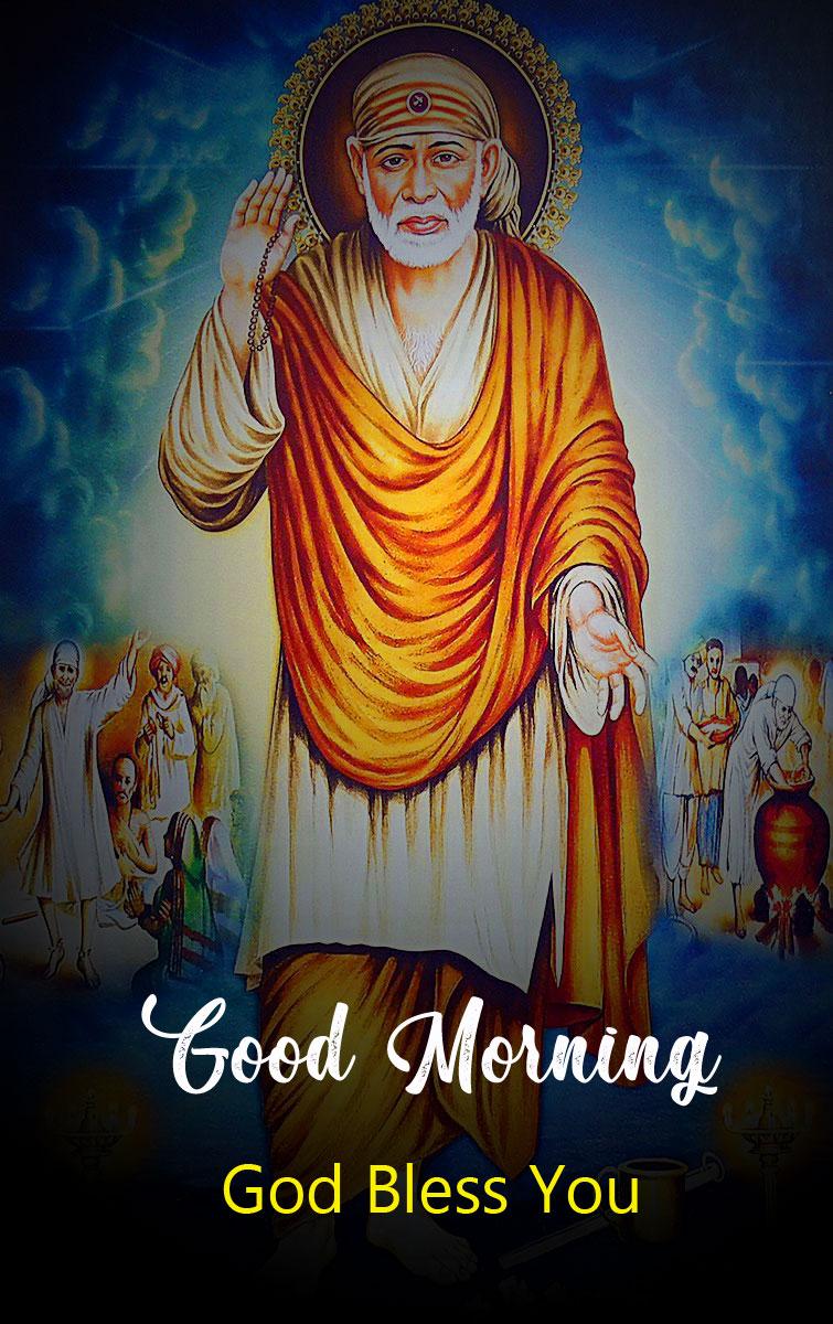 Nice Sai Baba Good Morning Images photo free hd