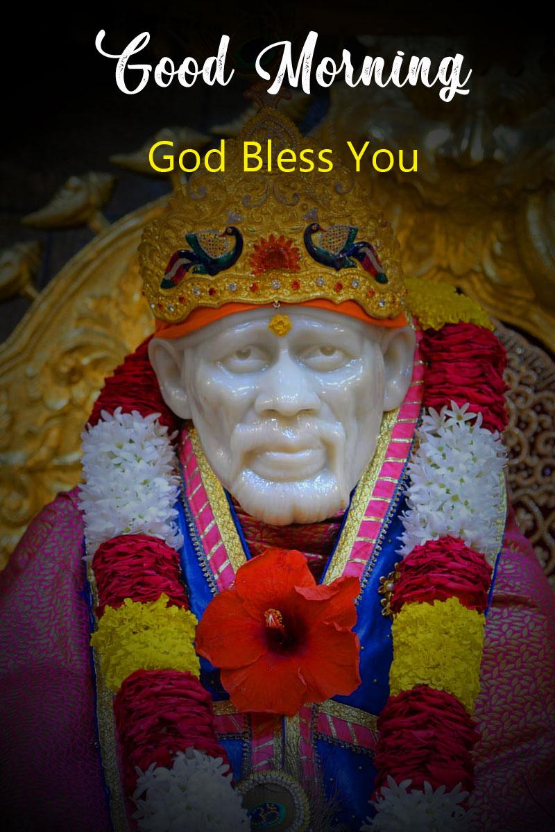 Nice Sai Baba Good Morning Images pics hd 2021