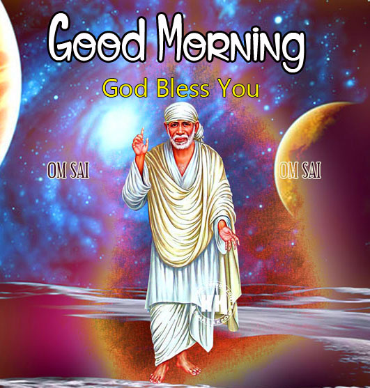 Nice Sai Baba Good Morning Images pictures