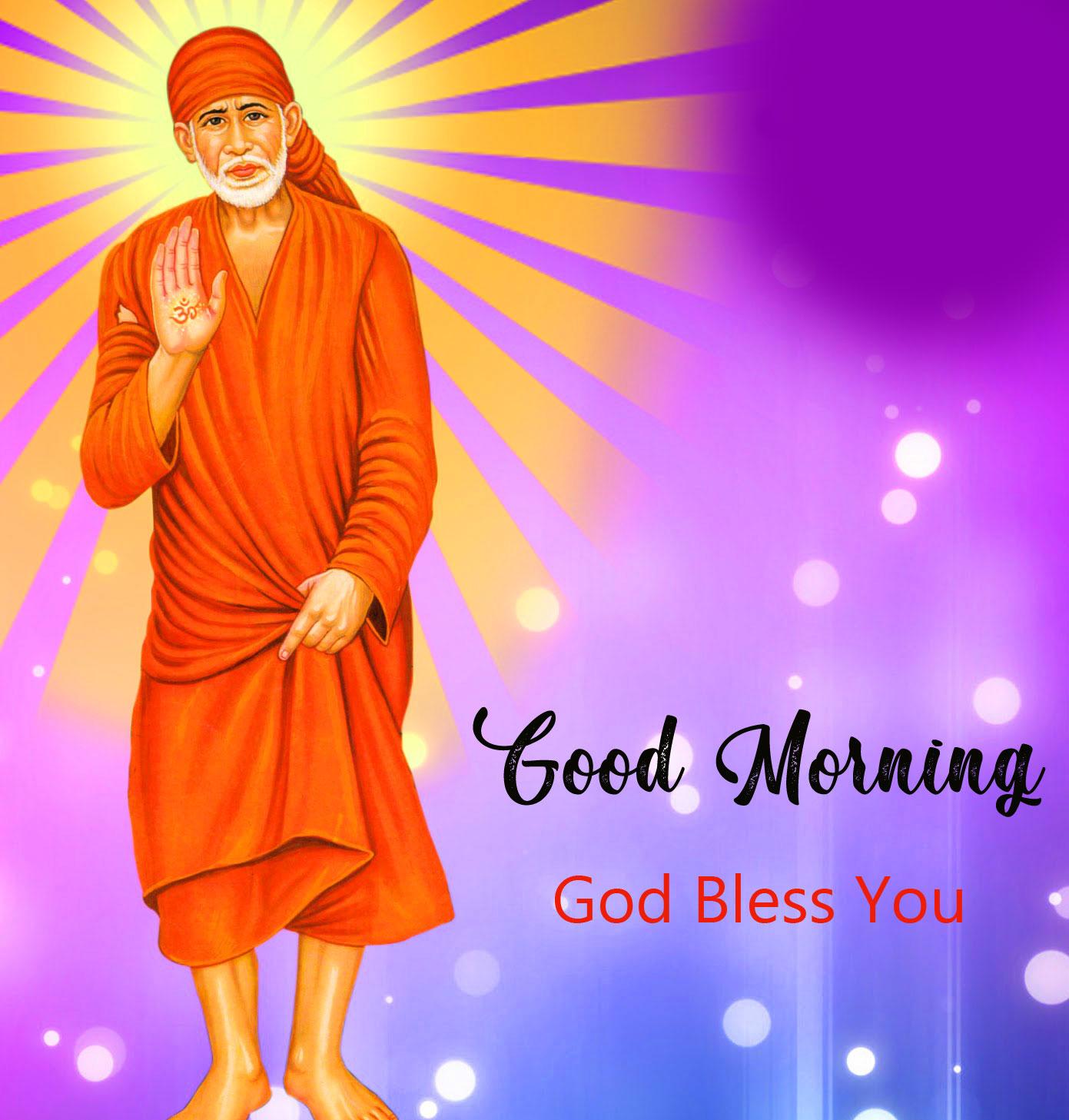 Nice Sai Baba Good Morning Images wallpaper free download