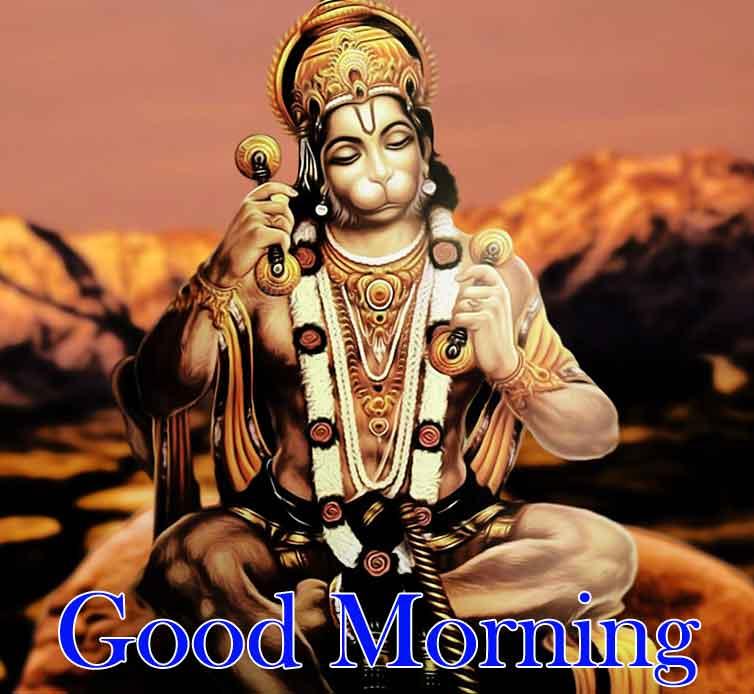 Quality Good Morning Images With Hanuman JI